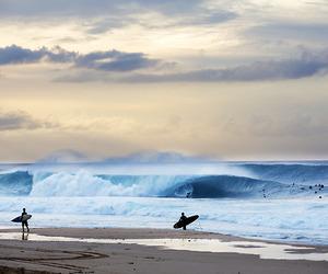 sea, beach, and surf image