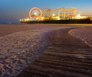 boardwalk, carnival, and free image