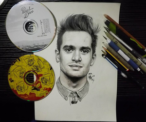drawing and panic at the disco image