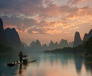 beauty, china, and view image