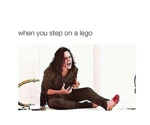 funny, lego, and steep image