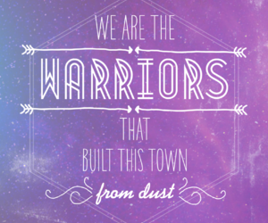 warrior, imagine dragons, and music image
