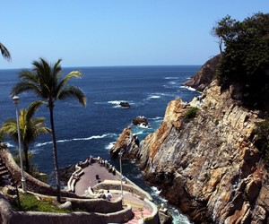 paysage, acapulco, and mexique image