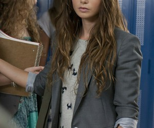 lily collins, pretty, and abduction image