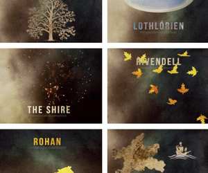 rivendell, lothlorien, and gondor image