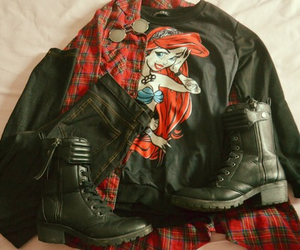 boots, disney, and grunge image