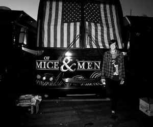 austin carlile, band, and of mice & men image