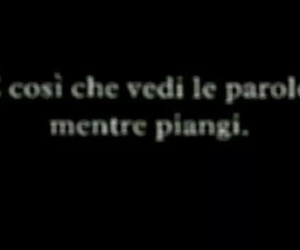 frasi italiane, amore, and italiano image
