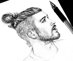 zayn malik, one direction, and draw image