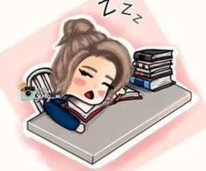 book, sleep, and school image