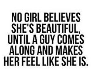 beauty, girls, and quote image