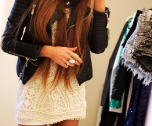 hair, outfits, and blonde image