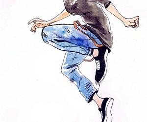 anime, girl, and grunge image