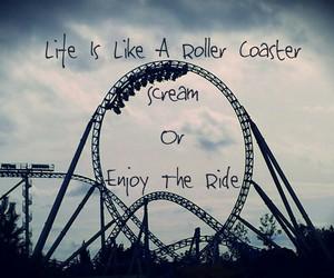 enjoy, Roller Coaster, and life image