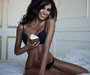 body, brunette, and girl image