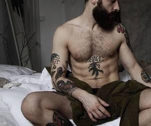 beard, bearded, and guy image