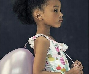 African-American, swimsuit, and balloon image