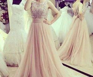 dress, long, and luxury image