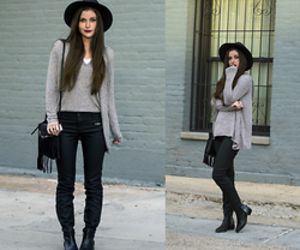 fashion, arizona girl blog, and black ankle boots image
