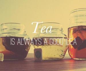 tea, drink, and ideas image