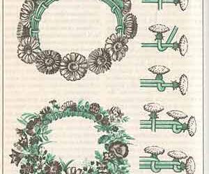 flowers, diy, and crown image