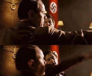 doctor who and hitler image