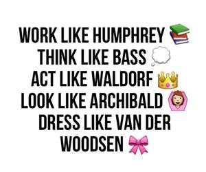 gossip girl, chuck bass, and waldorf image