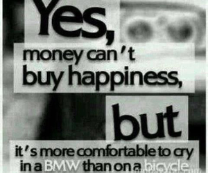 money, bmw, and happiness image