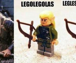 Legolas, funny, and lego image