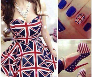 dress, england, and fashion image