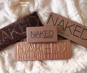 eyeshadow, girl, and naked image