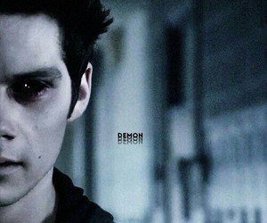 teen wolf, dylan o'brien, and demon image