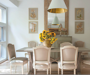 dining room and taupe image