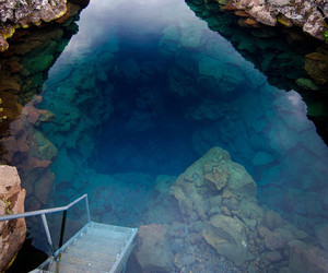 water, nature, and blue image