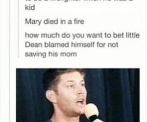 dean, mary, and supernatural image