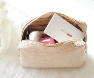 makeup, bag, and make up image