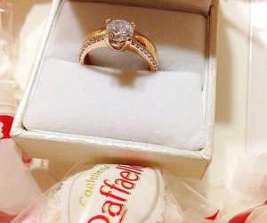ring, diamonds, and expensive image