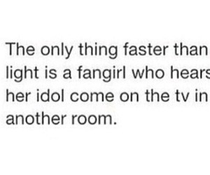 fangirl and idol image