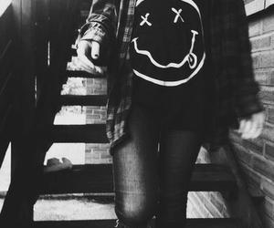 nirvana, grunge, and black image