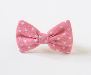 pink, bow, and heart image
