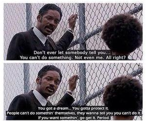 quotes, Dream, and will smith image