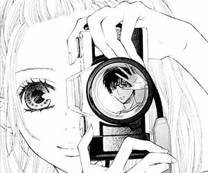 anime, manga, and camera image