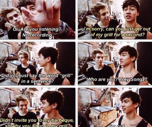 5sos, grill, and funny image