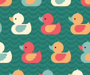 duck and wallpaper image