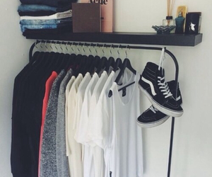clothes, vans, and acne image