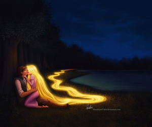 disney, raiponce, and love image
