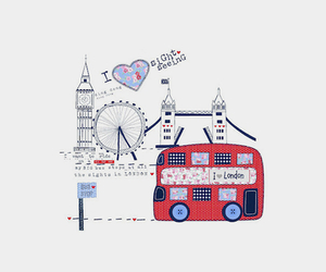 bus, draw, and london image