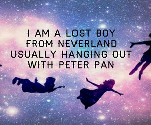 music, peter pan, and vine image