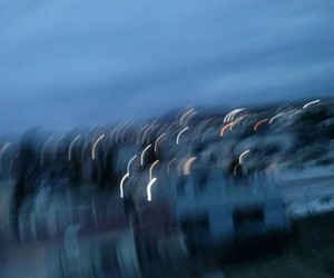 blue, blur, and blurry image