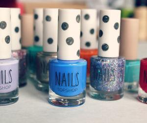 nails, topshop, and nail polish image
